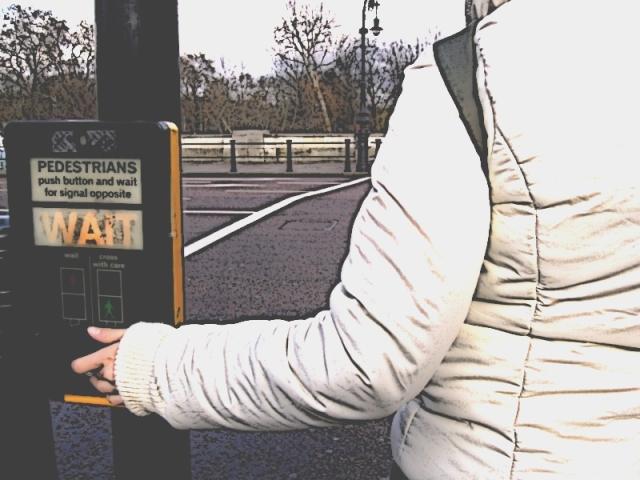 Londres paso de semáforos. LeleSorribas2007
