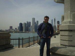 Iván en Nueva York. Fotografía cedida por Iván Marcos.