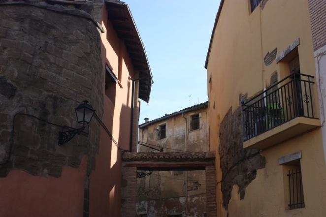 La Porteta, única puerta aún en pie de la muralla de Huesca. LeleSorribas2013