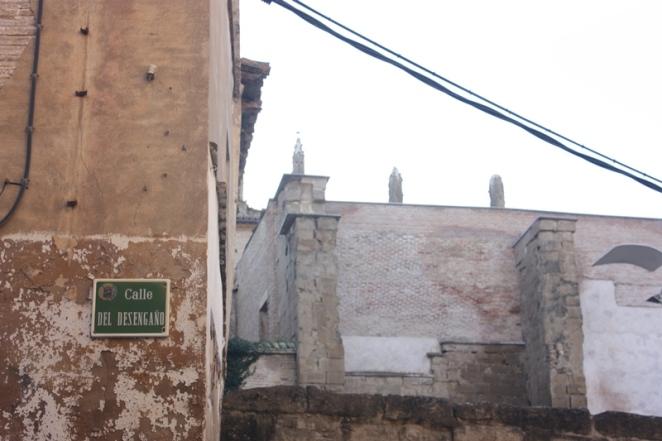Ni siquiera las calles están libres del desengaño. Calle del desengaño. Huesca. LeleSorribas2013