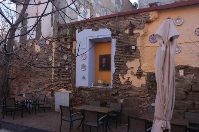 Terraza con invitación al reposo. Huesca. LeleSorribas2013