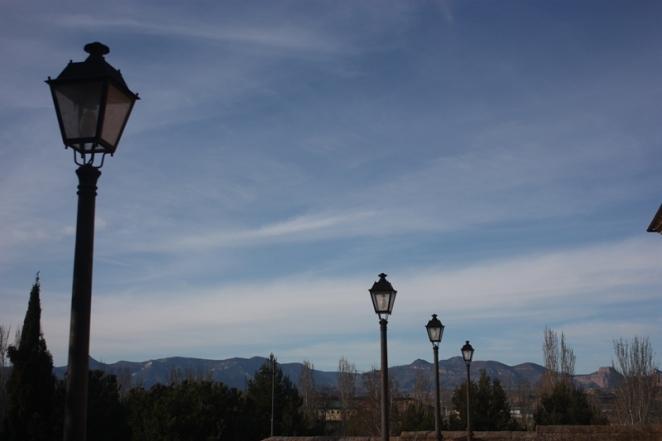 Vista desde el mirador a las sierras exteriores y la Hoya de Huesca. LeleSorribas2013