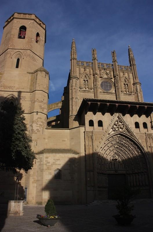 Fachada principal de la catedral de Huesca. LeleSorribas2013