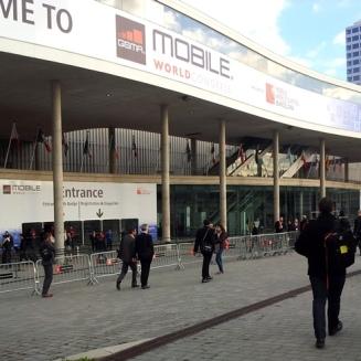 Bienvenidos al Mobile World Congress. 2014. LeleSorribas