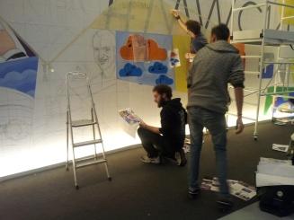 También hay espacio para la creación. Mobile World Congress 2014. LeleSorribas
