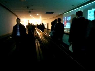El trajín de gente constante. Mobile World Congress 2014. LeleSorribas