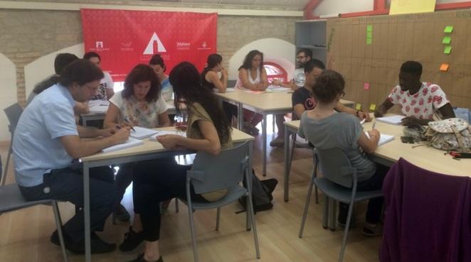 trabajo en equipo-Lanzadera-Lleida