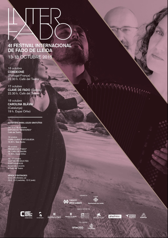 4º4º Festival Internacional de Fado de Cataluña. InterFado